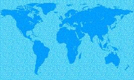 Mapa abstracto Foto de archivo