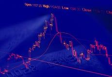 mapa akcje Obraz Stock