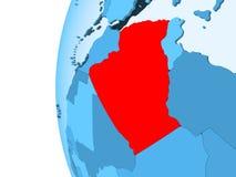 mapa algeria ilustracji