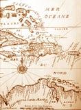Mapa antigo Fotos de Stock