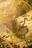 Mapa antiquado Imagem de Stock Royalty Free