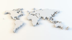 mapa biznesowy świat royalty ilustracja