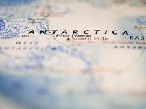 Mapa de Antactica Foto de Stock Royalty Free