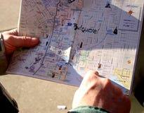 Mapa de Baltimore Fotos de Stock Royalty Free