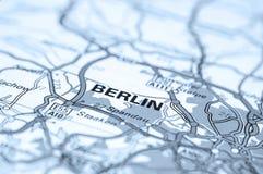 Mapa de Berlim Foto de Stock Royalty Free