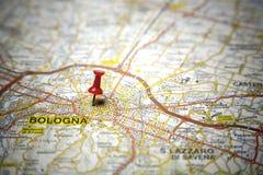 Mapa de camino Imagen de archivo