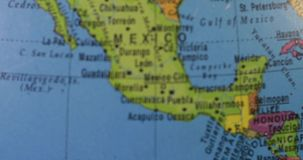 Mapa de Estados Unidos da América video estoque