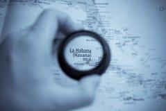 Mapa de Havana Imagem de Stock Royalty Free
