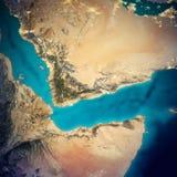 Mapa de la Arabia Saudita y de Somalia libre illustration