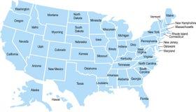 Mapa de los E.E.U.U.