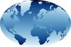Mapa de mundo 03 Imagens de Stock Royalty Free