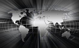 Mapa de mundo. Imagens de Stock Royalty Free