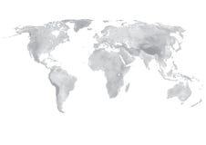 Mapa de mundo Fotos de Stock Royalty Free