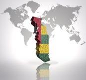 Mapa de Togo