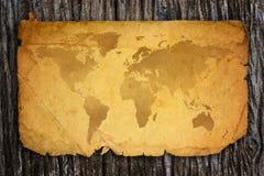 Mapa de Viejo Mundo. Fotografía de archivo libre de regalías