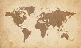 Mapa de Viejo Mundo libre illustration