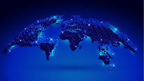 mapa del globo 3D Libre Illustration