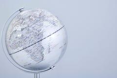 Mapa del globo del mundo Imagen de archivo libre de regalías