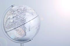 Mapa del globo del mundo Fotos de archivo libres de regalías