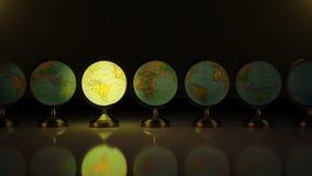 Mapa del mundo Imagen de archivo libre de regalías