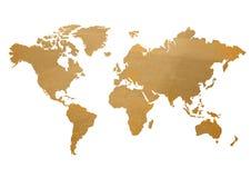 Mapa del mundo Imagen de archivo