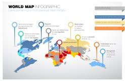 Mapa del mundo con leyes referente a relaciones homosexuales ilustración del vector