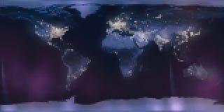 Mapa del mundo de las tejas del Rhombus del mosaico libre illustration