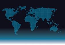 Mapa do diagrama Imagens de Stock