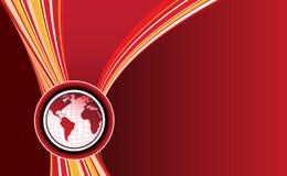 Mapa do mundo Foto de Stock Royalty Free
