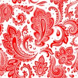Mapa do mundo floral do vetor bonito Imagens de Stock Royalty Free