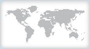 Mapa do vetor Imagem de Stock Royalty Free