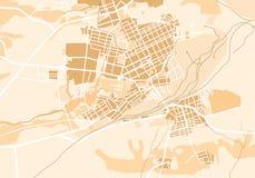 Mapa do vetor da cidade II Imagem de Stock