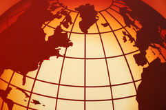 Mapa global Imagens de Stock