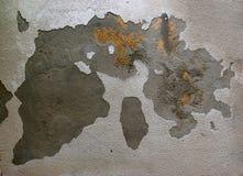 Mapa gravado Imagens de Stock