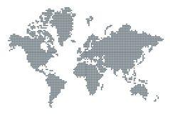 mapa ilustracyjny stary świat ilustracji