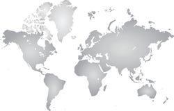 mapa ilustracyjny stary świat Fotografia Royalty Free