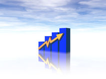 mapa jednostek gospodarczych Obrazy Stock