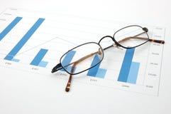 mapa jednostek gospodarczych Fotografia Stock
