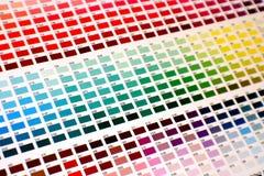 mapa kolor Obrazy Stock