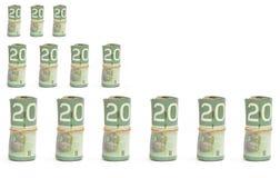 mapa pieniądze zdjęcia royalty free