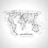 Mapa político del mundo Alto mapa del mundo del detalle Todos los elementos se separan en capas etiquetados claramente Extracto d Imágenes de archivo libres de regalías