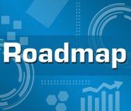 Mapa rodoviário Imagem de Stock Royalty Free