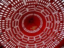 Mapa rojo del fondo Foto de archivo libre de regalías