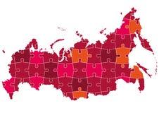 mapa Russia ilustracja wektor