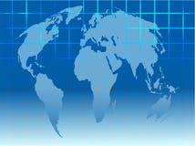 mapa sieci Obrazy Stock
