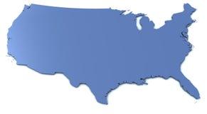 mapa usa ilustracja wektor