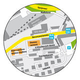 Mapa vectorizado libre illustration