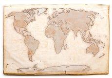 Mapa velho ilustração do vetor