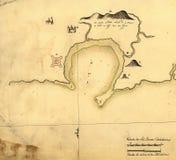 Mapa velho Foto de Stock Royalty Free