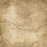 Mapa velho do vintage Imagem de Stock